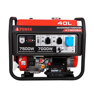 Бензиновый генератор A-iPower A7500EA фото