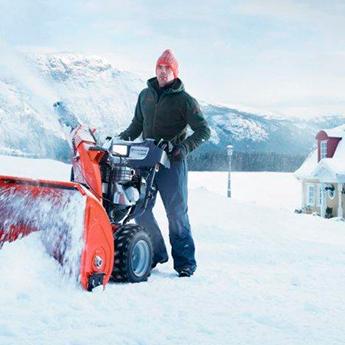 снегоуборщик несамоходный фото
