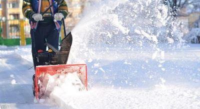 Снегоуборщик аккумуляторный фото