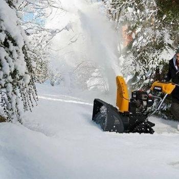расход бензина снегоуборщика фото