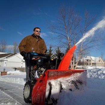 устройство снегоуборщика  фото