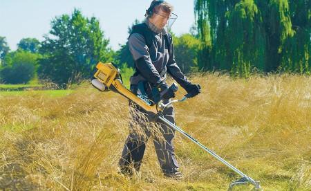 как выбрать триммер для травы фото